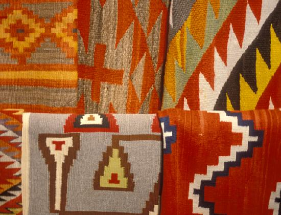 Santa Fe, Nuevo Mexico: Woven Native Tapestries