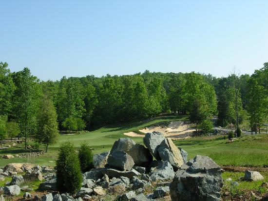 Tot Hill Farm Golf Club : #3 Green