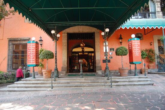 Eingang zur Hacienda de los Morales