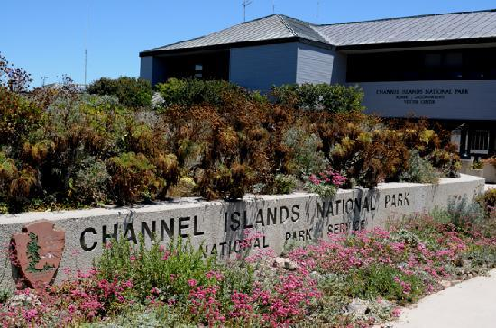 Parque Nacional Channel Islands, CA: Channel Islands National Park Entrance