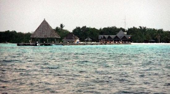 Gasfinolhu Island Resort : L'Ile