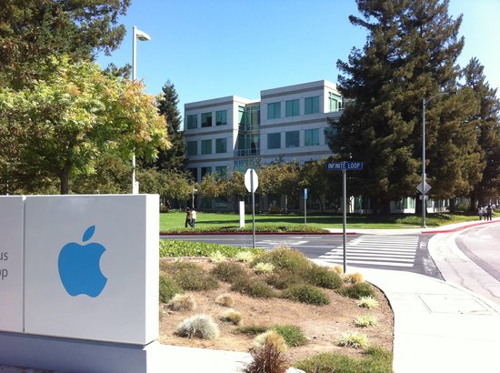 Cupertino, Californië: Apple Infinite Loop