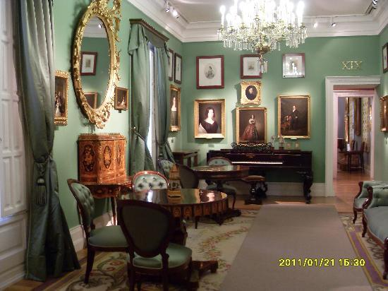 Museo del Romanticismo : green room