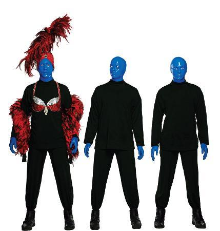blue man group essay Blue man group consisted of three men that were all bald, blue, wore black clothing, and had extremely large mouth capacities my favorite moment of the entire 105-minute show is hard to decide, both honestly and to my surprise.