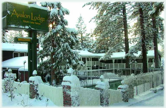 Winter at the Avalon Lodge