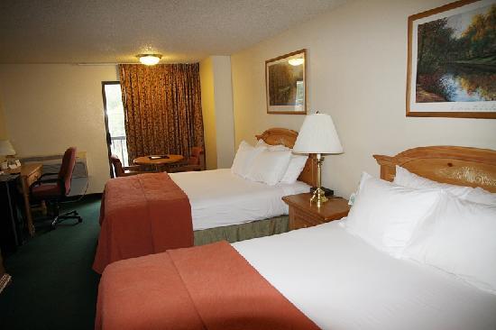 Oxford Inn Yakima: Unser Zimmer