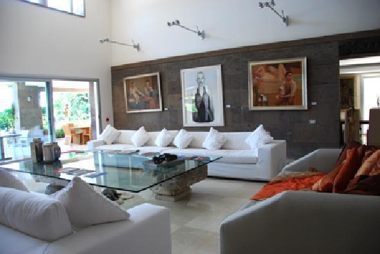 Casa Dell'Arte: Guest lounge area