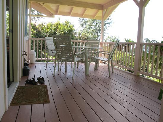 Nancy's Hideaway: The deck