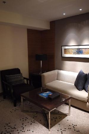 Radisson Blu Cebu: Living area