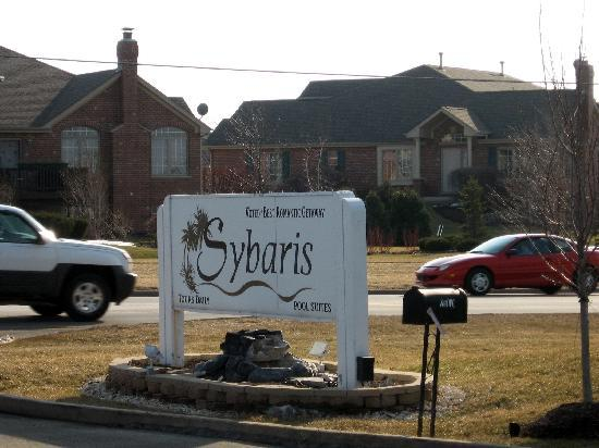 Sybaris Frankfort: Enterance