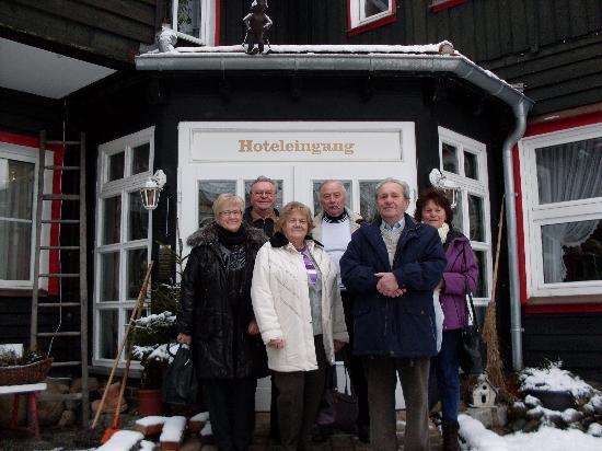 Hotel Grüne Tanne Mandelholz: Fam. Godau und Friedel-Abschied von der grünen Tanne