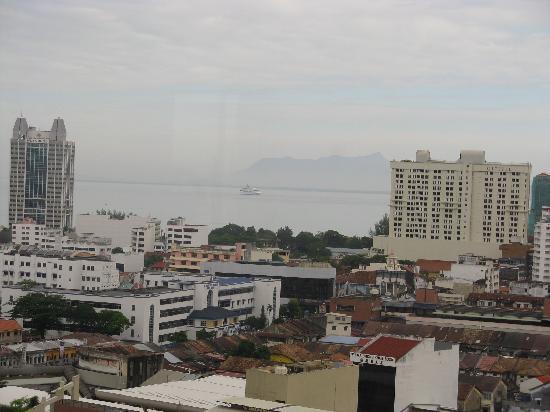 Hotel Jen Penang by Shangri-La : 16階からの眺望