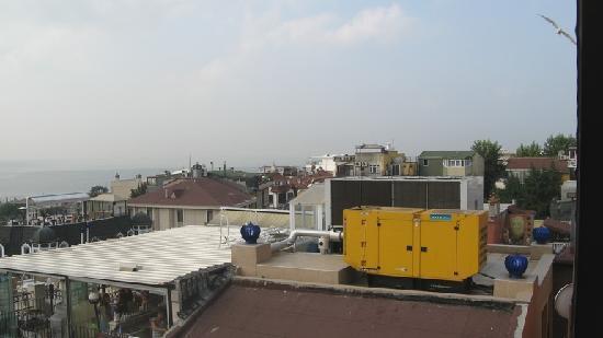 Hotel Ida: vista sul retro dalla terrazza
