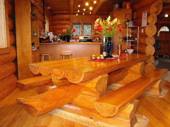 Da Log House: Breakfast Table