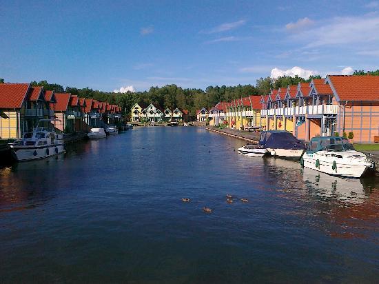 Maritim Hafenhotel Rheinsberg: Der Hafen