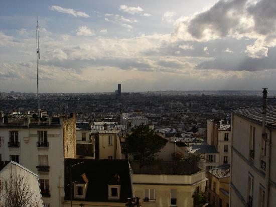Une Chambre a Montmartre: Chambre avec vue