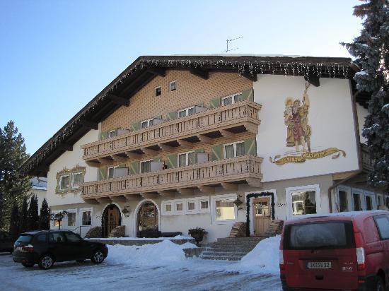 Hotel Christof: Façade de l'hotel