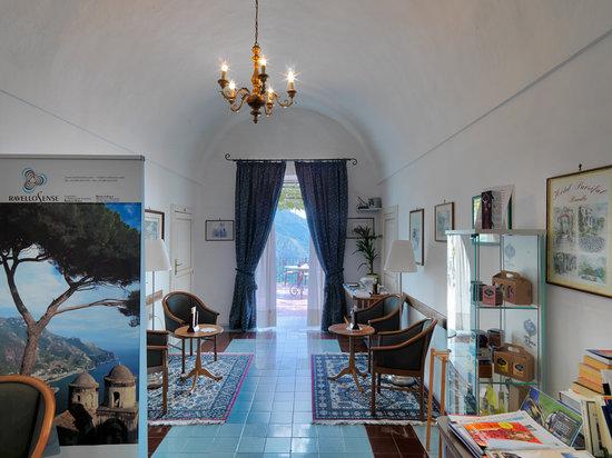 Hotel Parsifal Antico Convento del 1288: Sala lettura