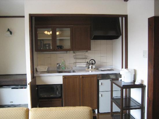 Hotel Harvest Tateshina: キッチン