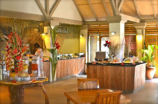 Indian Ocean Lodge: Frühstücksbuffet