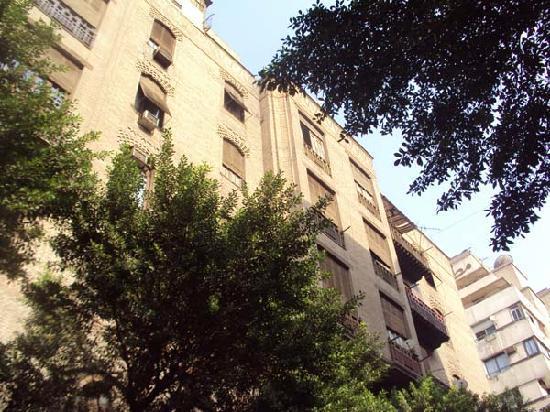 Windsor Hotel Cairo: Original Facade