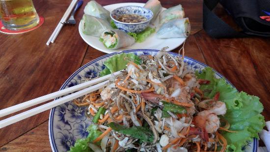 Сием-Рип, Камбоджа: Bananenblütensalat