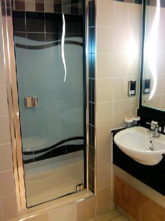 Ramada Birmingham Solihull: Shower Stall and sink