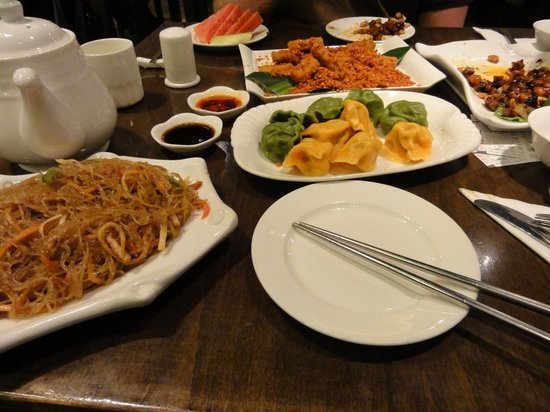 ZaoZiShu (JiangNing): nur ca. ein Prozent aus der Speisekarte ...