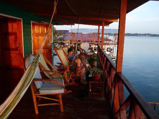 Bocas Inn: upper deck
