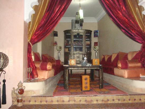 Riad Bahia: salon