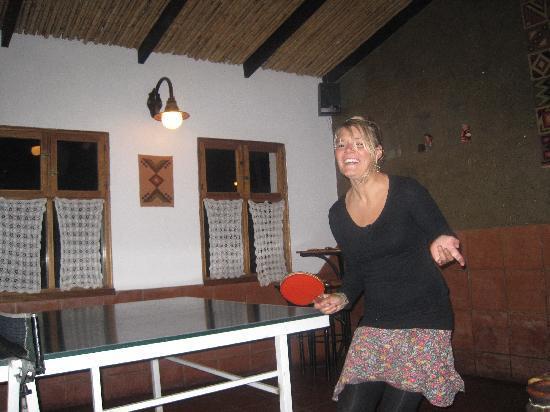 Pachamama : Table tennis