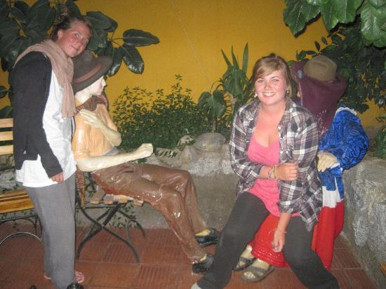 Pachamama : Funny statues!