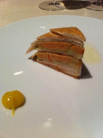 L'Astrance: Foie gras champignon
