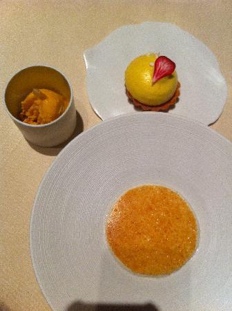 L'Astrance: dessert
