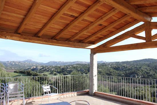 Luogosanto, Italy: terrazza