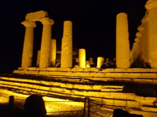 Al Vicoletto : i templi di notte