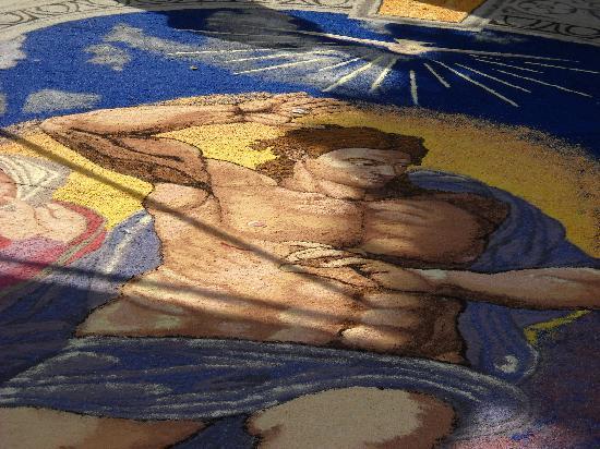 Pietra Ligure, İtalya: Infiorata