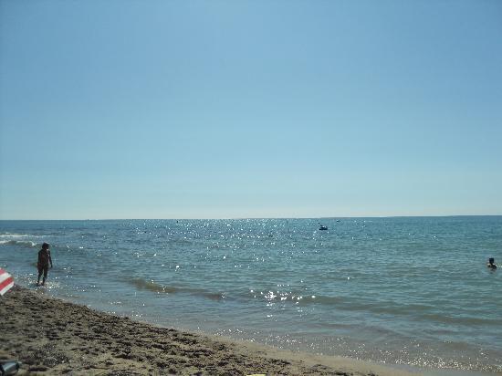 Playa Montroig Camping Resort: The beach