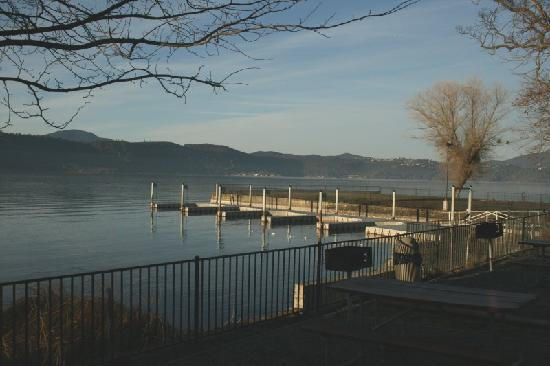 Clear Lake Cottages & Marina: Marina view