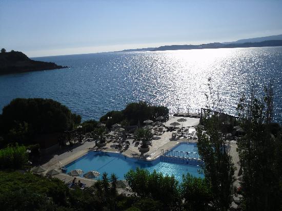 Mediterranee Hotel: View from hotel (Superior Room)