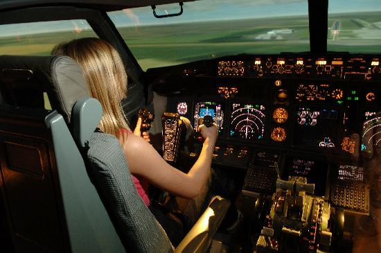 Hounslow, UK: Boeing 737-800 Flight Simulator