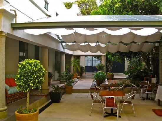 Hotel Villa Condesa: Patio