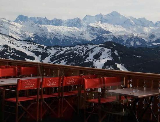 La Grande Ourse : Mont Blanc terrace view