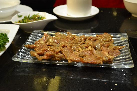 Qing YiSe Hotpot : Meat