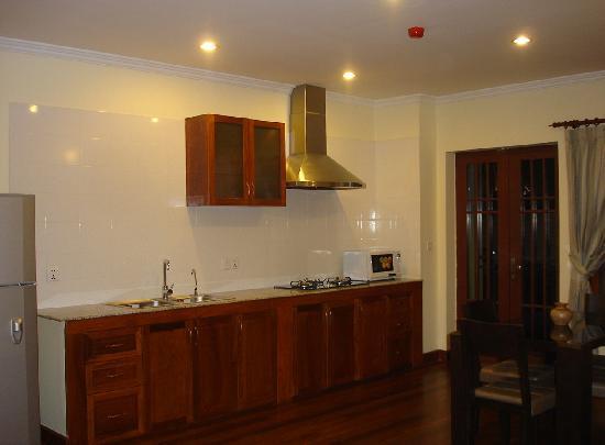 Seddhachan Hotel & Apartments : Kitchen