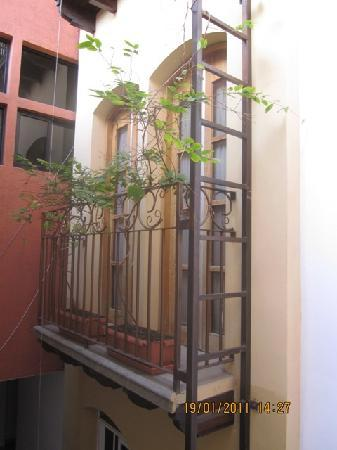 Hotel Casa del Arbol Galerias: balcony