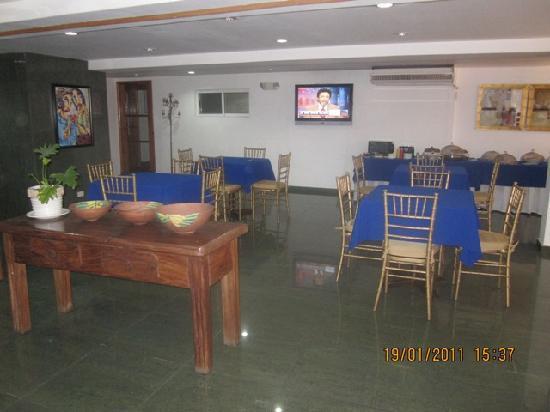 Hotel Casa del Arbol Galerias: restaurant