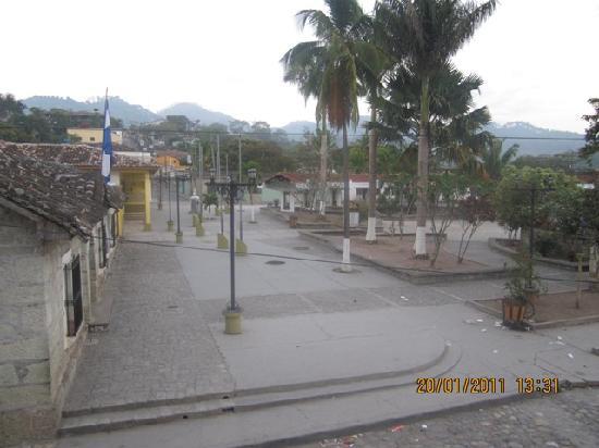 Hotel Camino Maya: View from the balcony