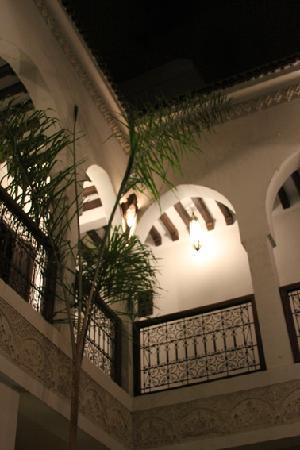 Riad Aguaviva: un rincón del riad