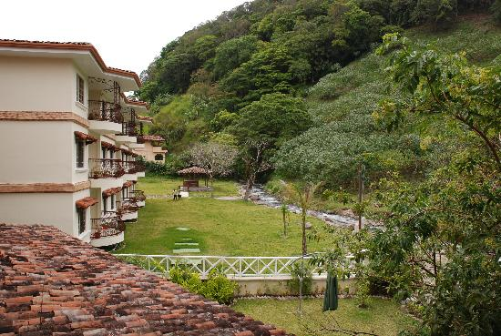 Hotel Valle del Rio: View from the balcony